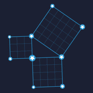 Triangle constellation