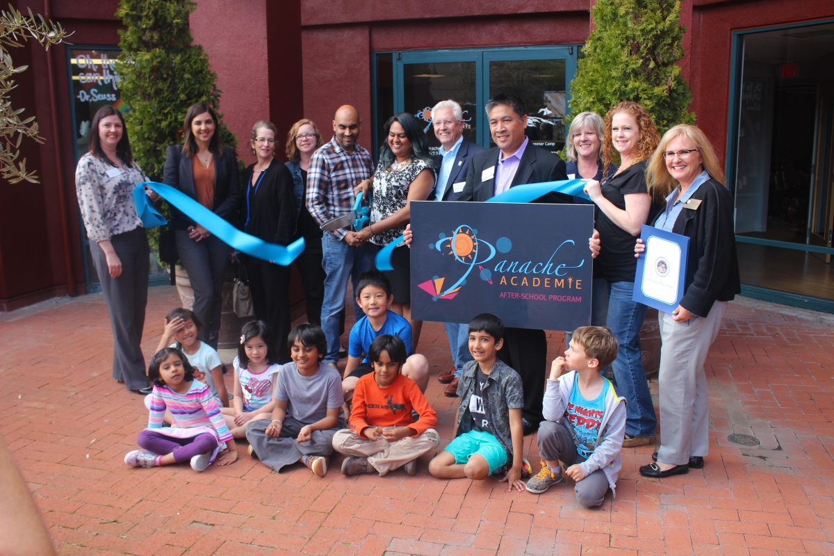 Our Ribbon Cutting ceremony with the San Ramon Chamber of Commerce