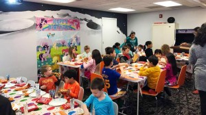 Our facility is available for rental on weekends for birthday parties and other events.
