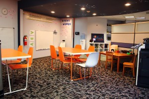 Our fully equipped classroom is used for homework help, math and language arts.