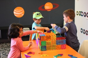 Our summer camp students enjoy a wide variety of building toys.